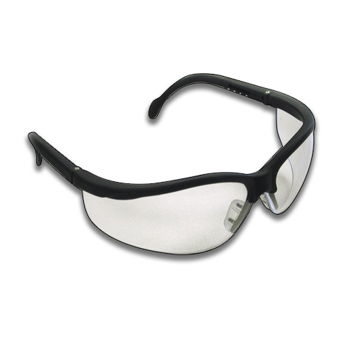 WRAP SAFETY GLASSES -CLEAR