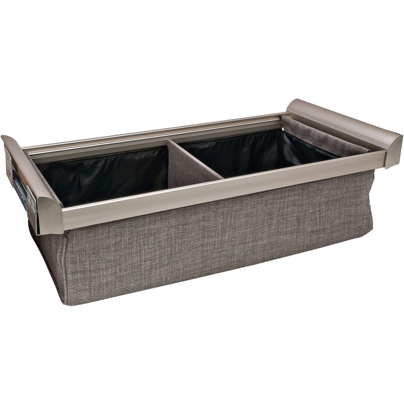 Engage Nickel Deep Drawer 18 Inches with 1 Divider