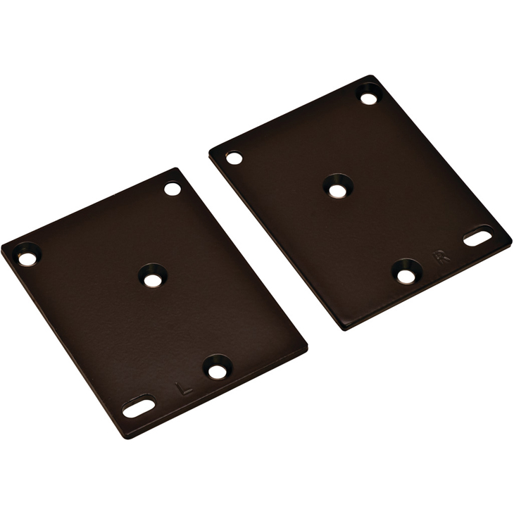 Optional Drawer Face Adapters - Black
