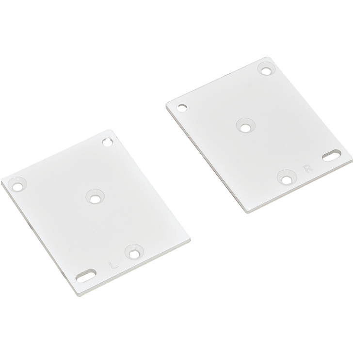 Optional Drawer Face Adapters - White