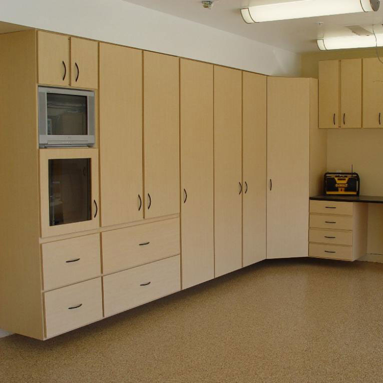Pre-Designed Cabinets - For Your Closet, Kitchen, Garage & Other Home Needs