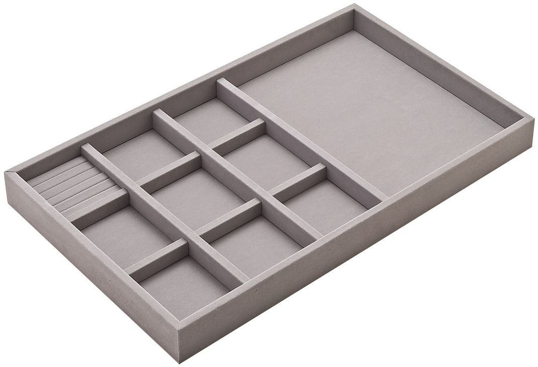 Gray Jewelry Tray