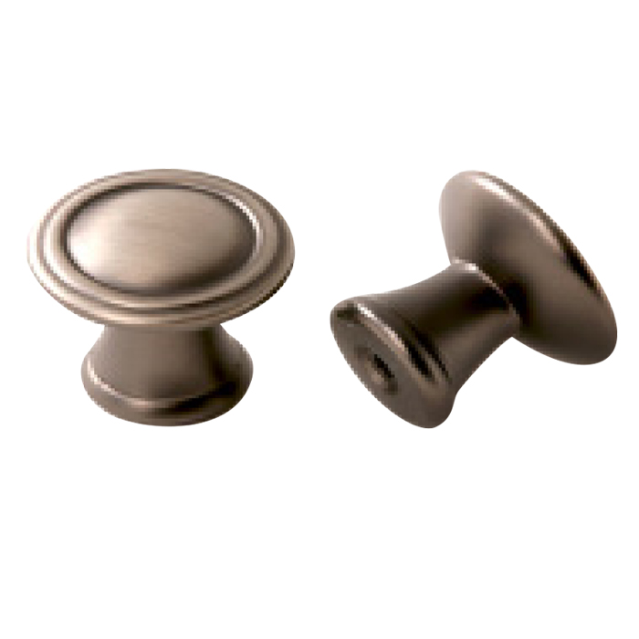 Satin Pewter Knob 30mm
