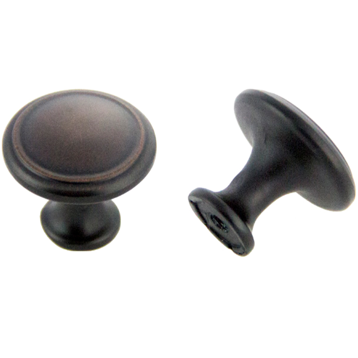 Oil Brushed Bronze Knob 30mm