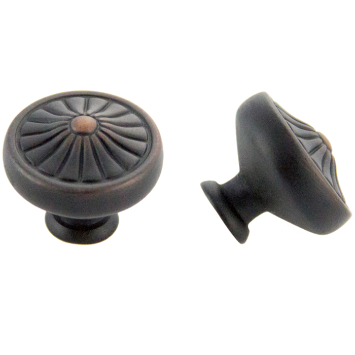 Oil Brushed Bronze Knob 32mm