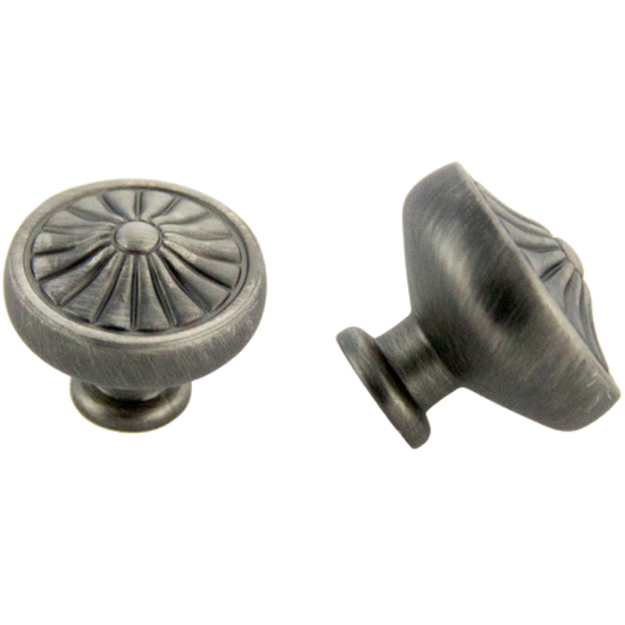 Satin Pewter Knob 32mm