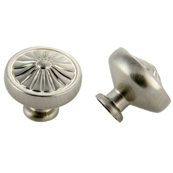 Satin Nickel Knob 32mm
