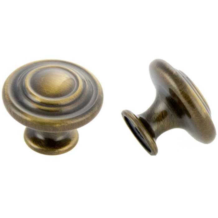 Antique English Polished Knob 1-3/8\