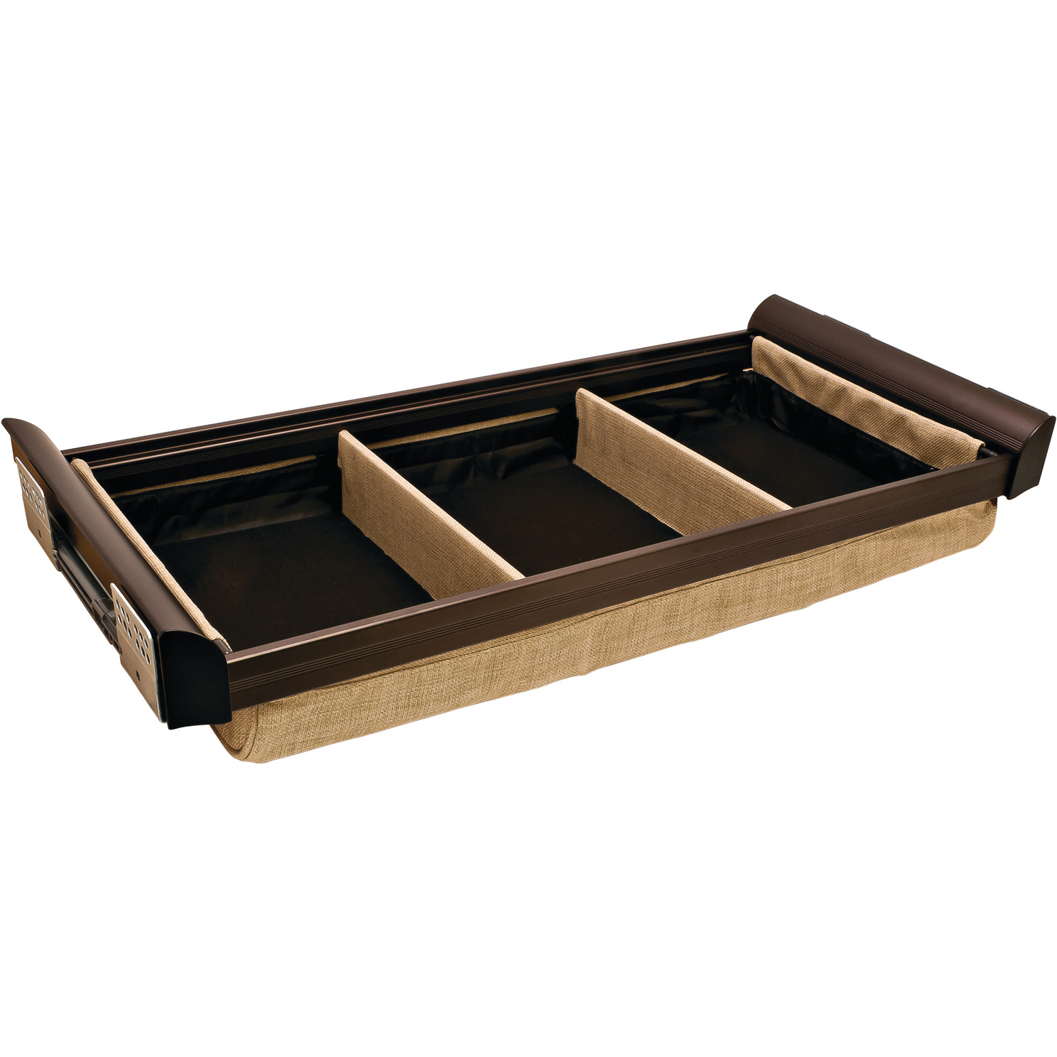 Engage Lingerie Bronze Drawers 18 Inches with 2 Dividers