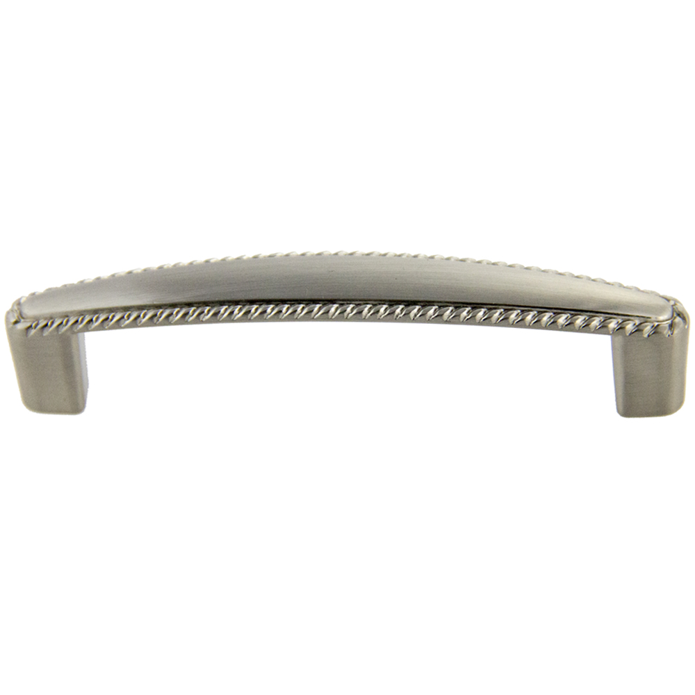 Satin Nickel Deco Pull 96mm CC