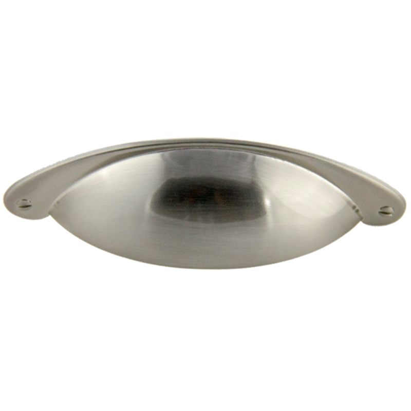 Hooded Cup Pull Satin Nickel 3\