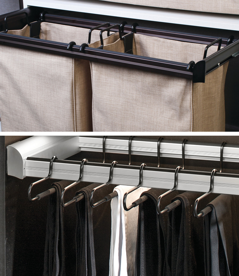 Pull-Out Laundry/Pant Frames