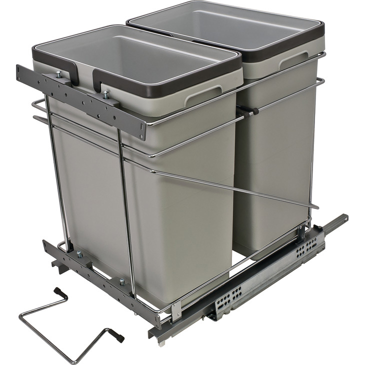 Double Bin Unit 64 Quarts (15 Inch Opening)