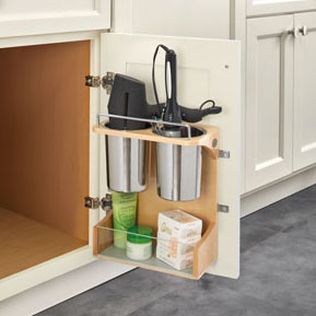 Rev-A-Shelf Vanity Appliance Storage Rack