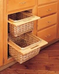 Pull-Out Woven Baskets