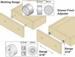 Drawer Adjusters Kit