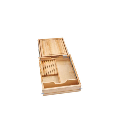 Combination Knife Holder/Cutting Board Drawer (18