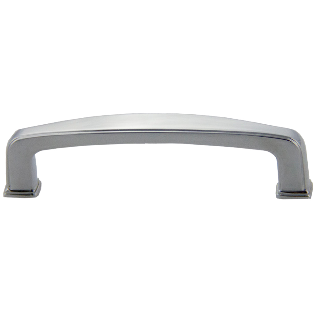 Polished Chrome Deco Pull 96mm CC