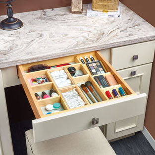 Rev-A-Shelf Vanity Drawer Organizer Insert